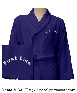 Luxury Plush Robe Design Zoom